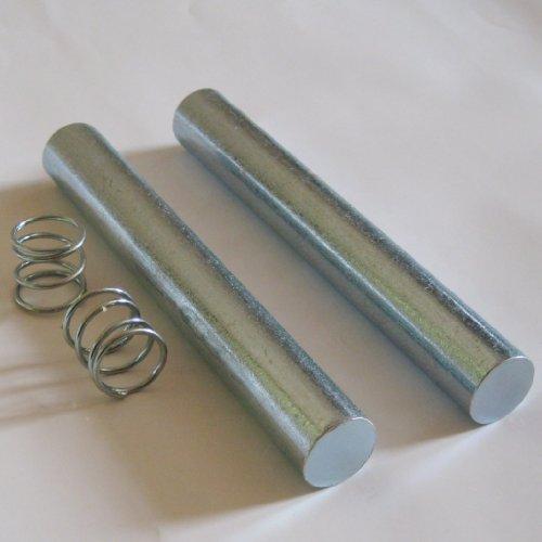 BAY® STAHL Zusatzgewichte für Springseile, 2 Stück a 250 Gramm + 2 Federn