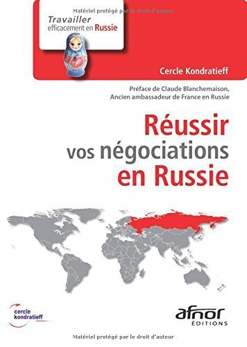 Russir vos ngociations en Russie de Cercle Kondratieff (3 avril 2014) Broch