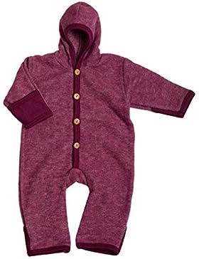 Cosilana, Baby Fleece Overall mit Umschlag, 60% Schurwolle (kbT), 40% Baumwolle (KBA)