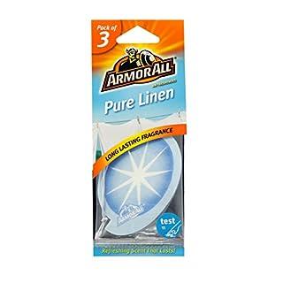Armor All Car Air Freshener On Card Pure Linen  White 3 Pack