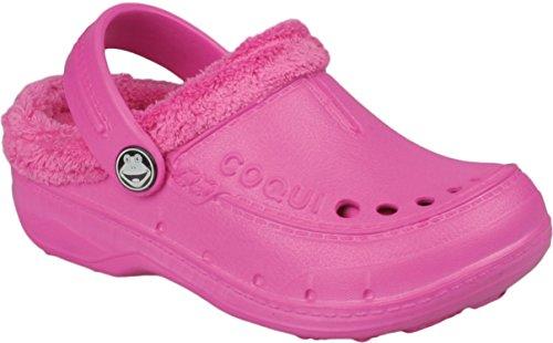 Coqui avec doublure pour sabots mixtes différents coloris, chaussures ** Rose - Fuchsia