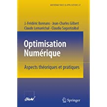 Optimisation Numerique. Aspects theoriques et pratiques (Mathematiques & Applications Vol. 27) (Mathématiques et Applications)