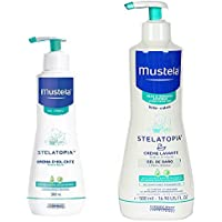 MUSTELA STELATOPIA PACK CREMA 300 ML + GEL DE BAÑO ...