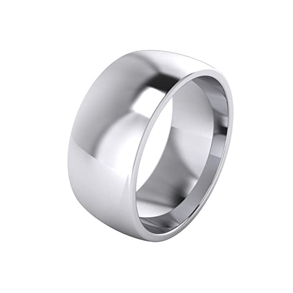 2/3/4/5/6/7/8/9mm Unisex Sterling Silver Super Heavy Court Shape Polished Wedding Ring 41mXFVOM2yL