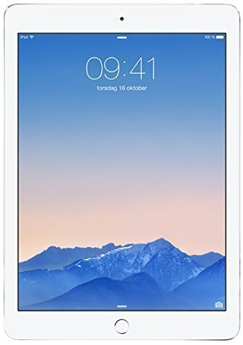 2014 Newest Apple iPad Air 2 thinest with touch ID fingerprint reader retina display(64GB,Wifi+Cellular,Silver)(US Version imported by uShopMall U.S.A.) (Ipad 2 Air Cellular 64)