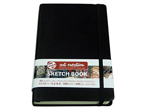 Skizzenbuch, Sketch Book, 80 Blatt, 21x14,8cm, quer, gebunden