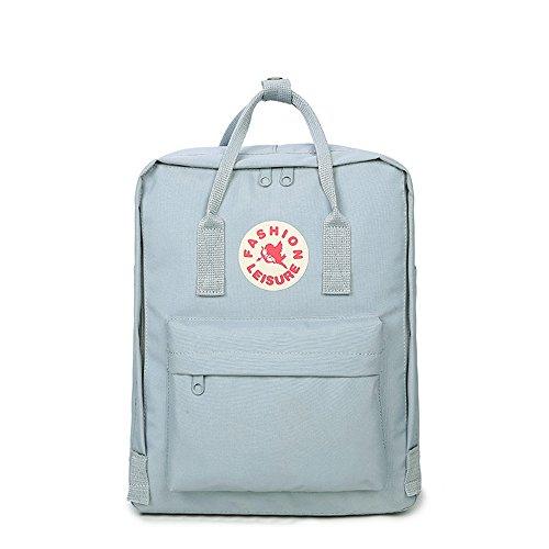Jugend Light Blue Kinder Schuhe (Neue Art und Weise Beiläufiges Wasserdichtes Oxford-Tuch Rucksack Student Bag Handtasche für Junge Jungen und Mädchen)