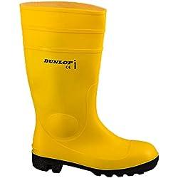 Dunlop Protective Footwear Protomastor full safety Unisex-Erwachsene Gummistiefel, Gelb 44 EU