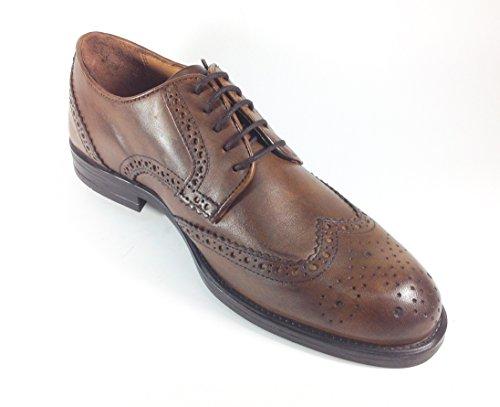 Scarpe uomo casual classiche in pelle stile inglese 8005N Marrone