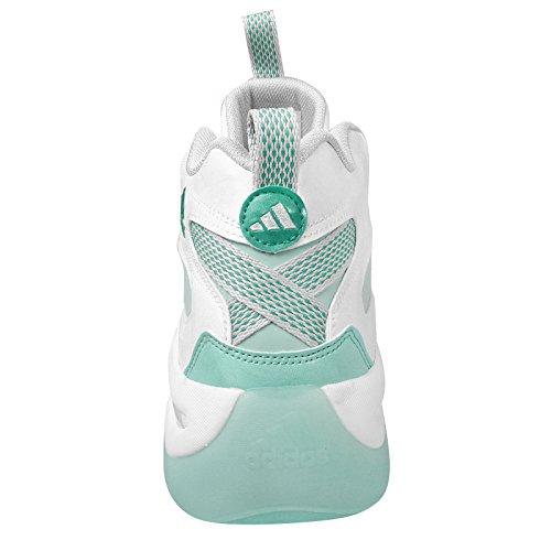 Adidas Crazy 8, Bianco / frozenmint / ghiacciaio grigio, 9 M Us White Mint