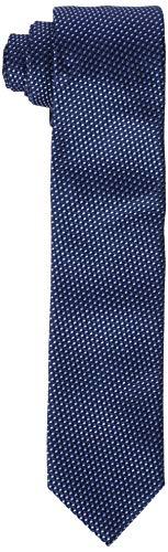 HUGO Herren Tie cm 6 Krawatte, per pack Blau (Navy 411), One Size (Herstellergröße: ONESI)
