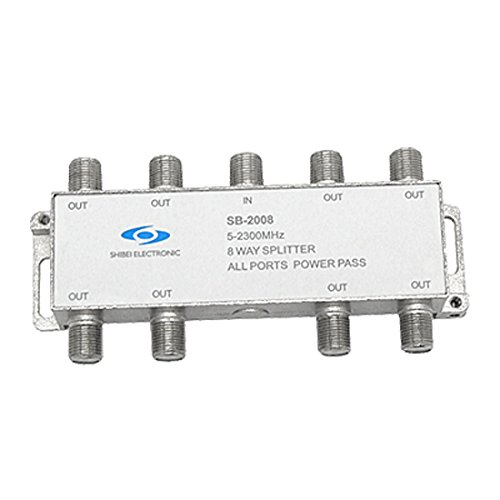 CATV-Koppler Splitter 8-Wege-Koaxial-Kabel-Anschluss 8-wege-koaxial Kabel