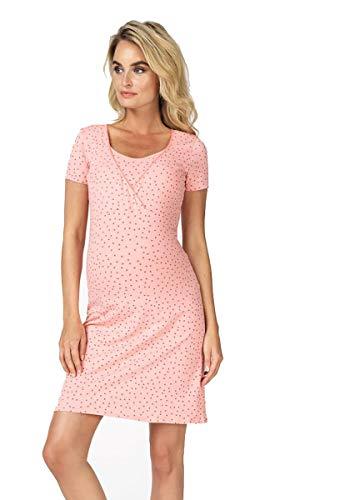 Noppies Still- Nachthemd Damen Nursing Nachtwäsche, Bridal Rose, M