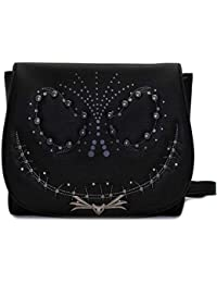 Loungefly x Nightmare Before Christmas Jack Studded Flap Crossbody Bag 00cd4aebf46
