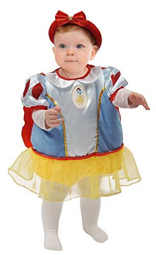 Ciao Baby Schneewittchen Kostüm Disney Princess, 6-12 Monate, Hellblau, Rot, Gelb, - Disney Baby Schneewittchen Kostüm