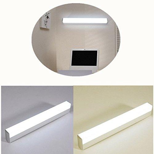ZHENWOFC 16W / 22W LED Spiegelfrontleuchte Vanity High Power Aluminium Wandleuchte für Kabinett Badezimmer AC85-265V Innenlicht (Color : 16W Light Cool White) -