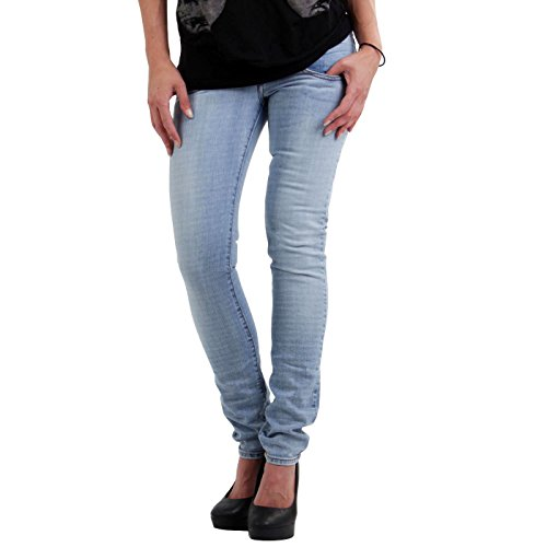Met - Jeans da donna Denim Fix Stretch JEL Light Blue e053878 blu W25