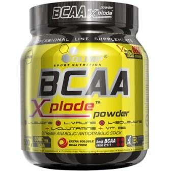 Olimp BCAA Xplode Powder Fruit Punch, 2er Pack (2 x 500 g)
