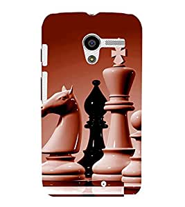 printtech Chess Play Back Case Cover for Motorola Moto X XT1058::Motorola Moto X (1st Gen)