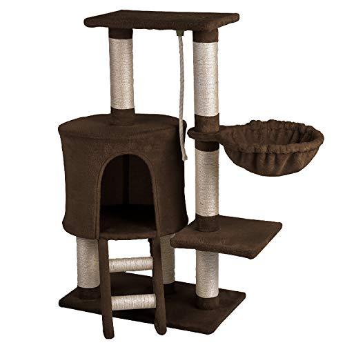 Wellhome Arbol para Gatos Escalador para Gatos Sisal Cubierto Rascador
