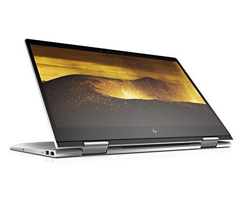 HP ENVY x360 (15-bp006ng) 39,6 cm (15,6 Zoll / FHD-IPS) Laptop (Intel Core i5-7200U, 8 GB RAM, 1 TB HDD, 128 GB SSD, Intel HD-Grafikkarte 620, Windows 10 Home 64) silber - Ips Touch-screen-laptop