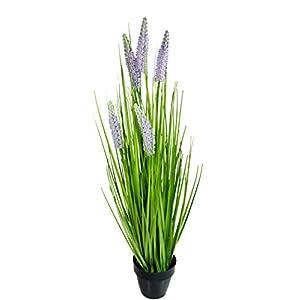 khevga Planta artificial de decoración de planta de 65 cm de altura.