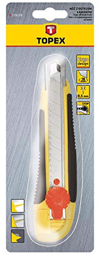 Topex 17B118 Couteau à lame sécable 18 mm