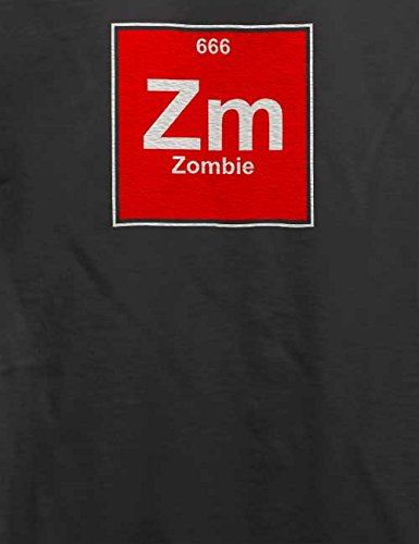 Zombie Elements T-Shirt Grau