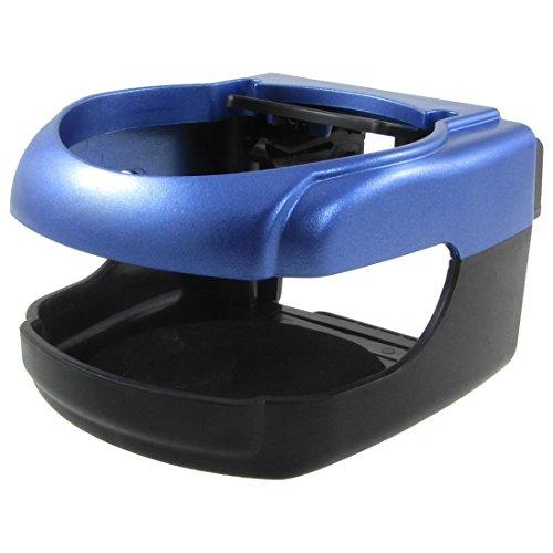Schwarz Blau Kunststoff Air Vent Getränk kann Halter-Standplatz für Auto-Träger -
