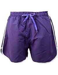 Mens Funky Retro Bright Vibrant Colour Mesh Lined Swim Shorts Swimming Beach Holiday Trunks Shorts M - XXL