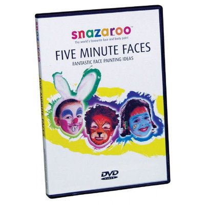 1198585 Snazaroo - 5 Minuten Gesichter DVD CDU (inkl. 10 DVDs