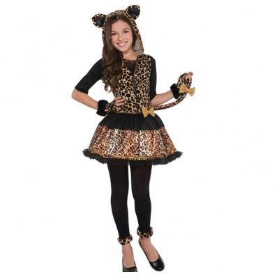 Leopard Für Kinder Kostüm ('Sassy Spots' Leopard Kinder Kostüm - 12 bis 14)