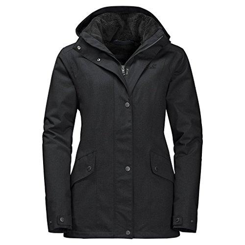 Jack Wolfskin Park Avenue Jacket Women Größe S black