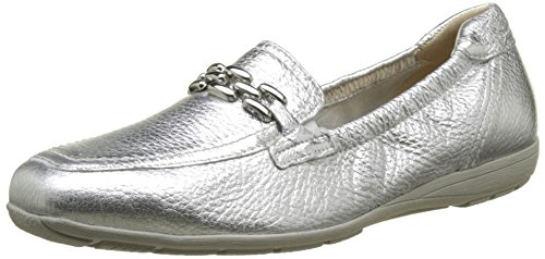 Caprice Damen 24661 Slipper, Silber (Silver Deer), 39 EU