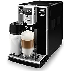 Philips EP5360/10 Kaffeevollautomat (1,8L, integrierte Milchkaraffe, 5 Kaffeespezialitäten) klavierlack-schwarz Kaffeevollautomat