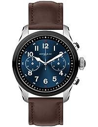 cf9d0bea5820 Reloj Montblanc Summit 2 Smartwatch 119439 Bicolor Acero y Piel marrón