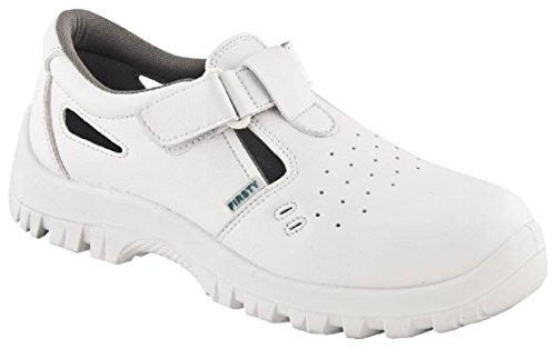 ARDON S1 VOG Arbeitsschuhe Sandale Küchenschuhe Kochschuhe Weiß Koch Schuhe mit Schutzkappe (39)