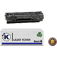 Konver K-CB436A, K 36A Cartucho de toner sustituye CB436A, 36A, para uso en Impresoras P1505, P1505N, M1120, M1120N, M1120MFP, M1522, M1522N, M1522F, M1522NF, 1522MFP.