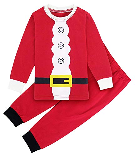 0b6ed88763 TEDD Christmas Pjs Kids Pyjamas Set for Boys Nightwear Cotton Toddler  Clothes Girls Fun Santa Claus