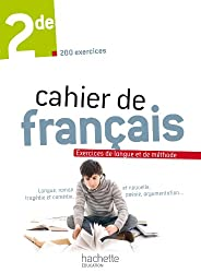 Cahier de français 2de - édition 2013