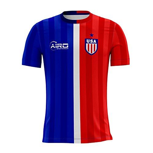 Airo Sportswear 2018-2019 USA Away Concept Football Soccer T-Shirt 810c70ae3