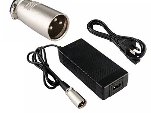24V 2A batería de plomo-ácido Cargador scooter eléctrico ebike cargador cargador de...
