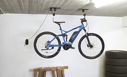 Imagen de Poleas Para Colgar Bicicletas Techo Fischer por menos de 20 euros.