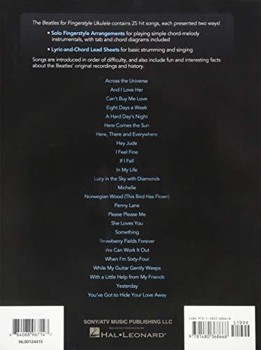 The Beatles For Fingerstyle -Ukulele Tab Book-: Noten