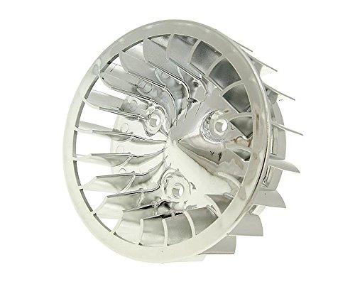 2extreme Ventilador Cilindro de cromo para KTM Quadra 50, Tempo 50, Malaguti...