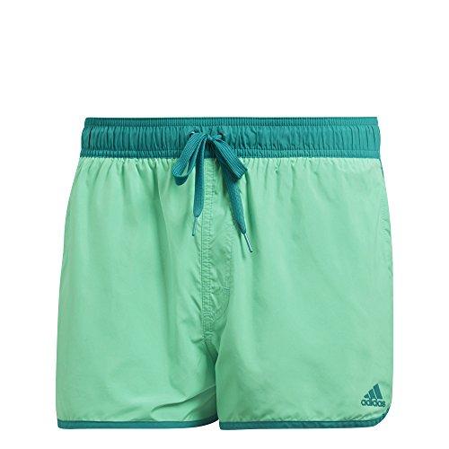 Adidas split pantaloncini da bagno, uomo, split, hi-res green/eqt green, m