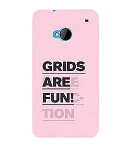 Fuson Designer Back Case Cover for HTC M7 :: HTC One M7 (Fun Entertainment Activity Active Pleasure)