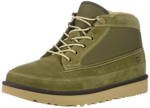 UGG Men's Highland Field Boot Fashion, Moss Green, 10 Medium US