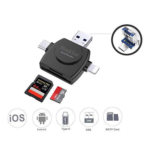 High Quality High Speed Mini Micro Sd T-flash Tf Sdhc Usb 2.0 Memory Card Reader Adapter With Dual Double Hat Lid Good Heat Preservation Memory Cards & Ssd
