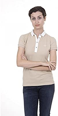 Fred Perry Fred Perry Womens Polo 31162362 0033 BEIGE